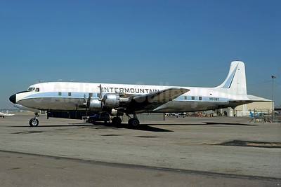 Intermountain Aviation Douglas DC-6A N61267 (msn 45374) (Jacques Guillem Collection). Image: 922975.
