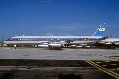Interstate Airlines-IA (2nd) McDonnell Douglas DC-8-62 N728PL (msn 45918) MIA (Bruce Drum). Image: 103062.