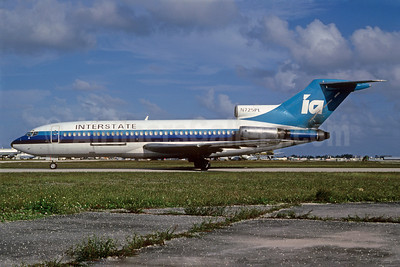 Interstate Airlines-IA (2nd) Boeing 727-22C N725PL (msn 19191) MIA (Bruce Drum). Image: 103061.