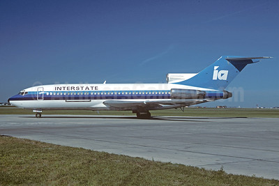 Interstate Airlines-IA (2nd) Boeing 727-22C C-GAGY (N726PL) (msn 19192) YWG (Christian Volpati Collection). Image: 920884.