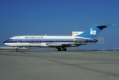 Interstate Airlines-IA (2nd) Boeing 727-22C N726PL (msn 19192) ORD (Christian Volpati Collection). Image: 933715.
