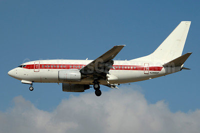 Janet Airlines (URS - EG & G) (U.S. Air Force) Boeing 737-66N N288DP (msn 29892) LAS (Jay Selman). Image: 403693.