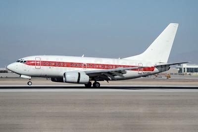 Janet Airlines (URS - EG & G) (U.S. Air Force) Boeing 737-66N N273RH (msn 29890) LAS (TMK Photography). Image: 941197.