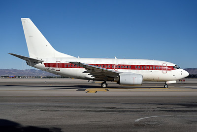 Janet Airlines (URS - EG & G) (U.S. Air Force) Boeing 737-66N N319BD (msn 28649) LAS (Royal S. King). Image: 930549.