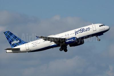 JetBlue Airways Airbus A320-232 N607JB (msn 2386) (Tartan) FLL (Jay Selman). Image: 403472.