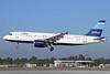 JetBlue Airways Airbus A320-232 N503JB (msn 1123) (Stripes) LGB (Michael B. Ing). Image: 921148.