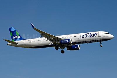 JetBlue Airways Airbus A321-231 WL N950JT (msn 6609) (Prism) JFK (Jay Selman). Image: 403377.