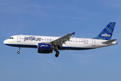 JetBlue Airways Airbus A320-232 N547JB (msn 1849) (Tartan) LGB (Michael B. Ing). Image: 938781.