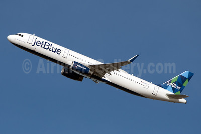 JetBlue Airways Airbus A321-231 WL N956JT (msn 6791) (Prism) JFK (Fred Freketic). Image: 945819.