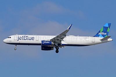 JetBlue Airways Airbus A321-231 WL N967JT (msn 7257) (Prism) LAX (Michael B. Ing). Image: 938784.