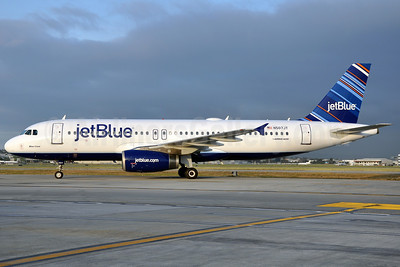 JetBlue Airways Airbus A320-232 N507JT (msn 1240) (Barcode) LGB (Stephen Tornblom). Image: 906336.
