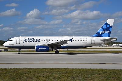 JetBlue Airways Airbus A320-232 N641JB (msn 2848) (Blueberries) FLL (Bruce Drum). Image: 104525.