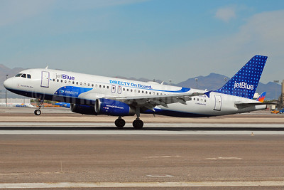 JetBlue Airways Airbus A320-232 N510JB (msn 1280) (DIRECTV On Board) LAS (Eddie Maloney). Image: 907337.