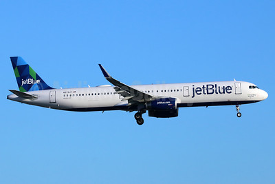 JetBlue Airways Airbus A321-231 WL N979JT (msn 7627) (Prism) LAX (Michael B. Ing). Image: 938787.