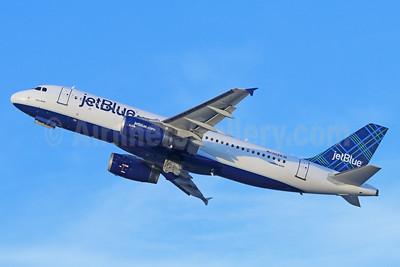 JetBlue Airways Airbus A320-232 N524JB (msn 1528) (Tartan) LGB (Michael B. Ing). Image: 938780.