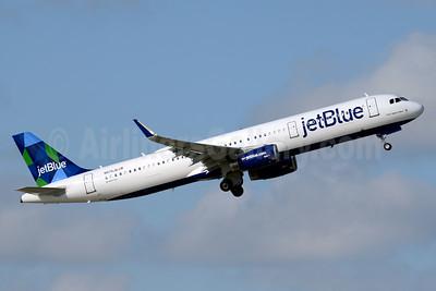 JetBlue Airways Airbus A321-231 WL N970JB (msn 7415) (Prism) FLL (Jay Selman). Image: 403474.