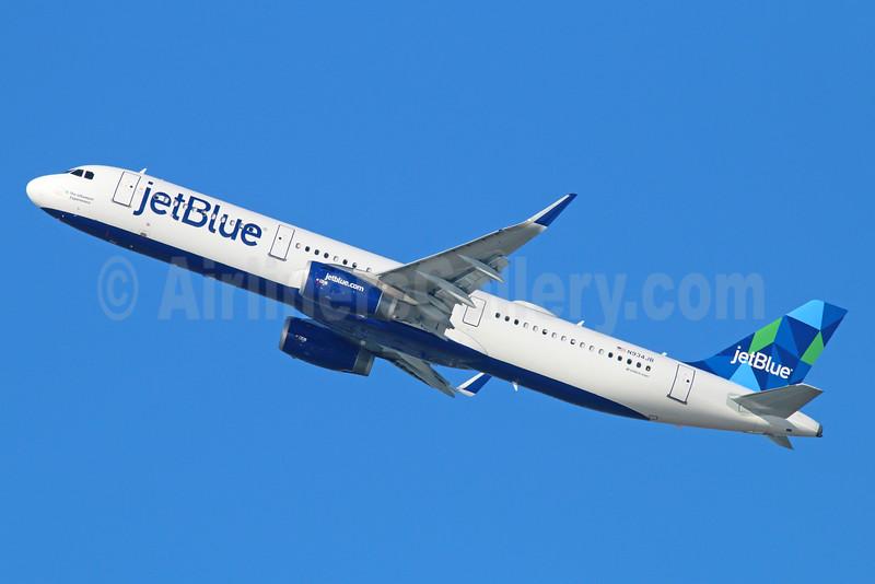 JetBlue Airways Airbus A321-231 WL N934JB (msn 6130) (Prism) LAX (Michael B. Ing). Image: 926846.