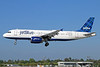 JetBlue Airways Airbus A320-232 N556JB (msn 1904) (Tartan) LGB (Michael B. Ing). Image: 932653.