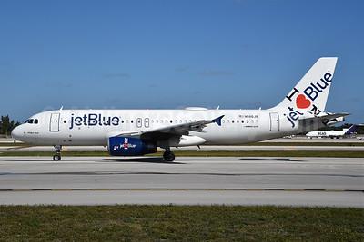"""JetBlue's 2011 """"I Love NY"""" special livery"""