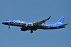 """JetBlue's first Embraer 190 special livery - """"Blueprint"""""""