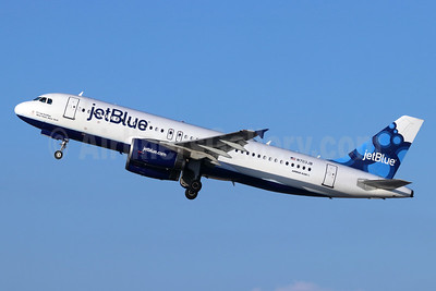 JetBlue Airways Airbus A320-232 N703JB (msn 3381) (Blueberries) LGB (Michael B. Ing). Image: 948440.