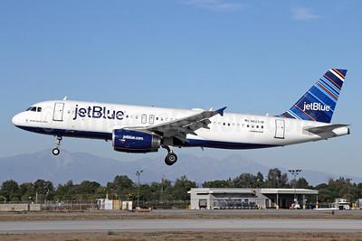 JetBlue Airways Airbus A320-232 N623JB (msn 2504) (Barcode) LGB (Michael B. Ing). Image: 921141.