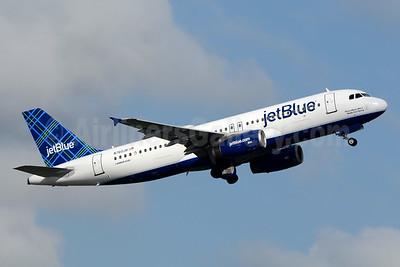 JetBlue Airways Airbus A320-232 N760JB (msn 3659) (Tartan) FLL (Jay Selman). Image: 403473.
