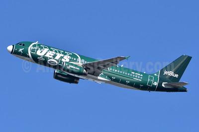 JetBlue Airways Airbus A320-232 N746JB (msn 3622) (New York Jets) JFK (Fred Freketic). Image: 944356.