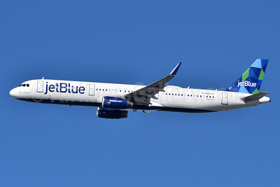 JetBlue Airways Airbus A321-231 WL N987JT (msn 7855) (Prism) JFK (Fred Freketic). Image: 945822.