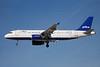 JetBlue Airways Airbus A320-232 N505JB (msn 1173) (Dots) LAS (Bruce Drum). Image: 100221.