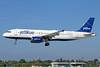 JetBlue Airways Airbus A320-232 N509JB (msn 1270) (Tartan) LGB (Michael B. Ing). Image: 928755.