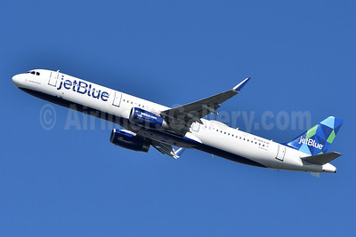 JetBlue Airways Airbus A321-231 WL N954JB (msn 6725) (Prism) JFK (Fred Freketic). Image: 945818.