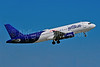"The special ""Binary Code"" livery of JetBlue Airways"
