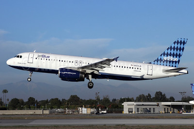 JetBlue Airways Airbus A320-232 N504JB (msn 1156) (Harlequin) LGB (Michael B. Ing). Image: 908070.
