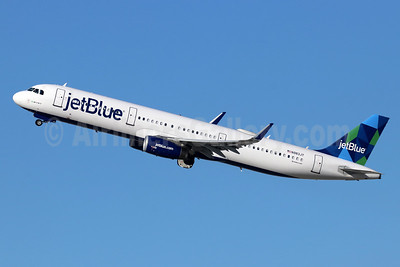 JetBlue Airways Airbus A321-231 WL N983JT (msn 7739) (Prism) LAX (Michael B. Ing). Image: 948432.