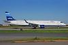 JetBlue Airways Embraer ERJ 190-100 IGW N296JB (msn 19000219) (Stripes) CLT (Bruce Drum). Image: 101403.