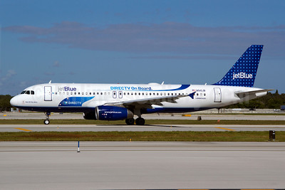 JetBlue Airways Airbus A320-232 N510JB (msn 1280) (DIRECTV On Board) FLL (Luimer Cordero). Image: 907439.