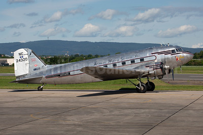 """""""Miss Montana"""" - restoration by the Museum of Mountain Flying"""