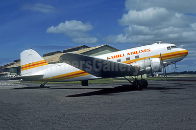 Kahili Airlines Douglas C-47A-DL (DC-3) N96H (msn 19224) HNL (Christian Volpati Collection). Image: 951308.