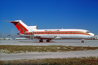 Kalitta (Connie Kalitta Services) (1st) Boeing 727-35 (F) N152FN (msn 19167) MIA (Keith Armes). Image: 926961.