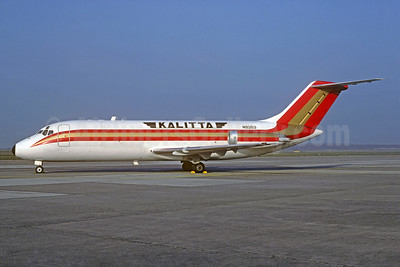 Kalitta (Connie Kalitta Services) (1st) Douglas DC-9-15F N9353 (N901CK) (msn 47154) YIP (Christian Volpati Collection). Image: 926962.