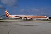 Kalitta (Connie Kalitta Services) (1st) McDonnell Douglas DC-8-61 (F) N813CK (msn 45893) MIA (Bruce Drum). Image: 103728.