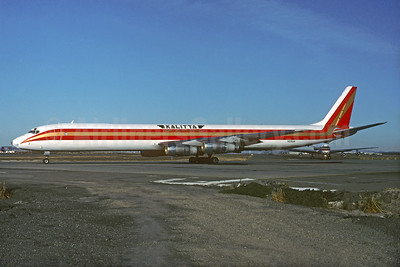 Kalitta (Connie Kalitta Services) (1st) McDonnell Douglas DC-8-61 (F) N23UA (N813CK) (msn 45893) SFO (Christian Volpati Collection). Image: 933576.