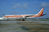Kalitta (Connie Kalitta Services) (1st) McDonnell Douglas DC-8F-54 Jet Trader N806CK (msn 45932) MIA (Bruce Drum). Image: 103727.