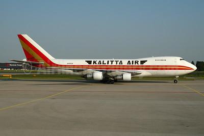 Kalitta Air (2nd) Boeing 747-246F N705CK (msn 21034) AMS (Ton Jochems). Image: 953347.