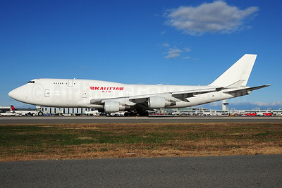 Kalitta Air (2nd) Boeing 747-4B5 (BCF) N976BA (N708CK) (msn 25275) JFK (Fred Freketic). Image: 935502.