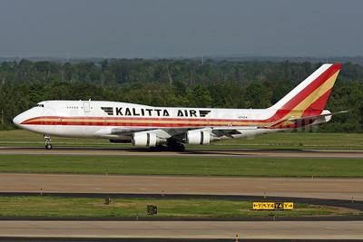 Kalitta Air (2nd) Boeing 747-4H6 (F) N741CK (msn 24315) IAD (Brian McDonough). Image: 905352.