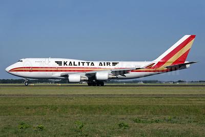 Kalitta Air (2nd) Boeing 747-446 (F) N744CK (msn 26353) AMS (Antony J. Best). Image: 938672.
