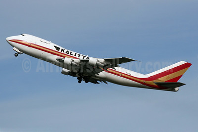 Kalitta Air (2nd) Boeing 747-2B4B (SF) N713CK (msn 21099) LHR (Wingnut). Image: 905548.