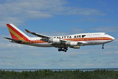 Kalitta Air (2nd) Boeing 747-446 (F) N744CK (msn 26353) ANC (Ken Petersen). Image: 938673.